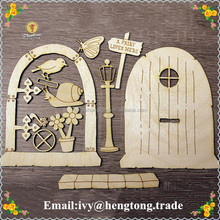 Best sale cusmos DIY souvenir laser cut wood ornaments, kid's gift wood crafts, handmade chirstmas decoration home set pieces