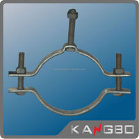 High quality Metal galvanized clamp for pole
