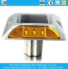 reflective Solar Road Stud/led solar reflector/solar road spike