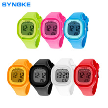 Synoke 50M Waterproof Kids Watch Fashion Sports LED Digital-watch Silicone Jelly Children Unisex Online Watches