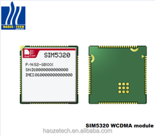 SIMCOM hot sale global market cerfiticate SIM5320A WCDMA/HSDPA/EDGE/GSM/GPRS/GPS 3G modem module with SMT package