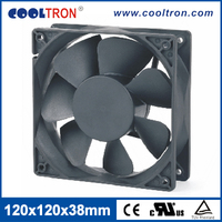 Hot Sell Axial Flow Air Circulation Fan,Small Heat Resistant Fan 120 x 120 x 38mm