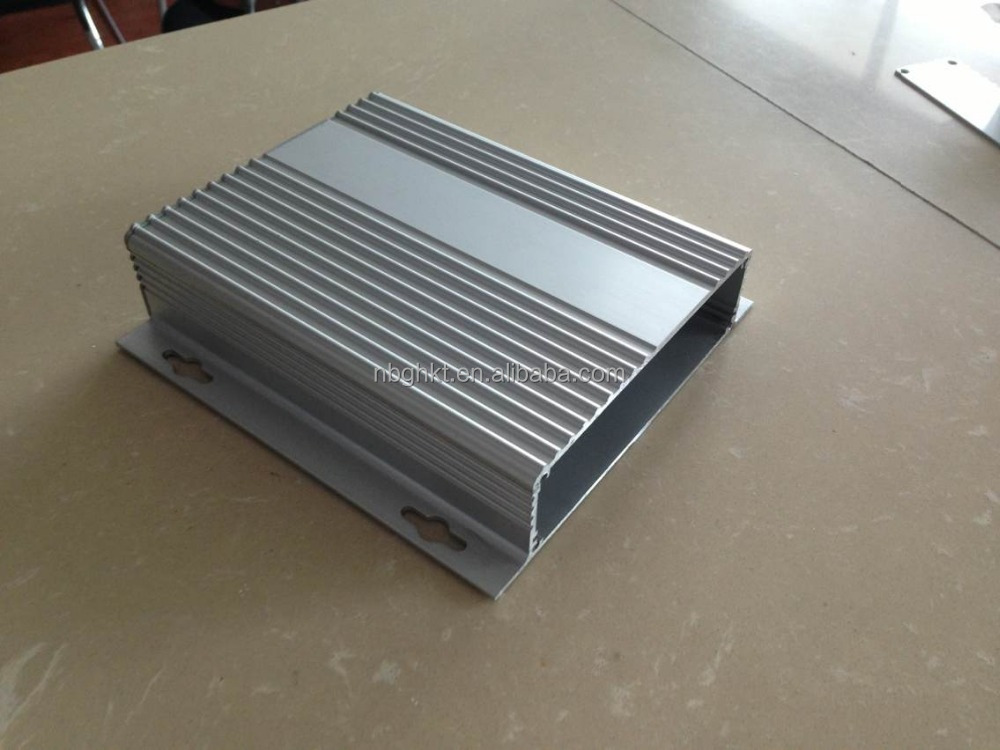 custom anodized extruded aluminum enclosure 36*147