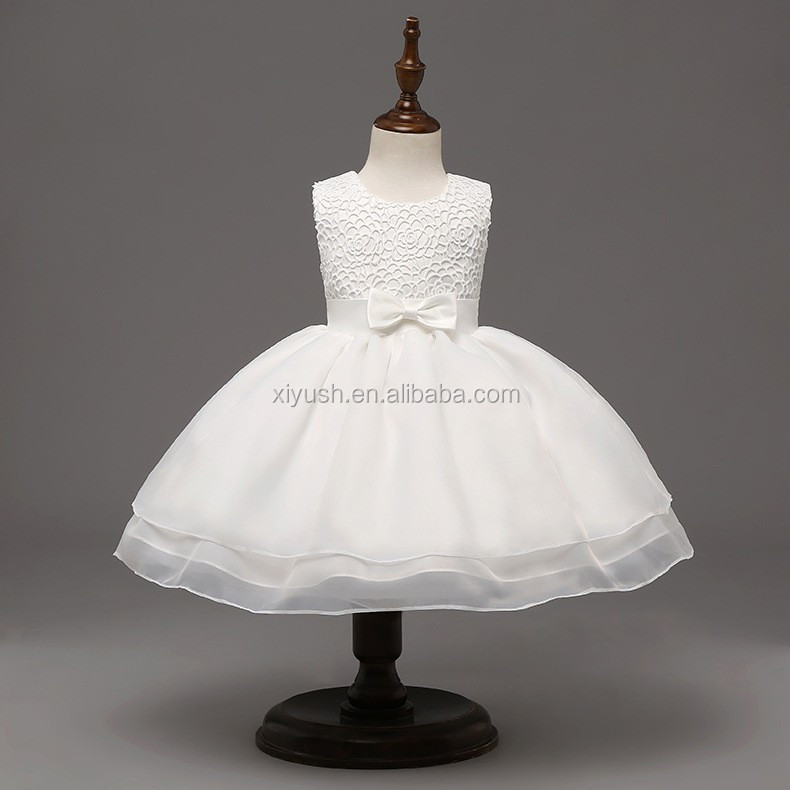 Accept custom order New Design readymade party wear dresses for girls