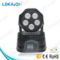 Mini movinghead stage light 5pcs 10W led moving head 5in1