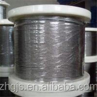 Popular 1mm Thick Flexible Stainless Steel Wire Rope