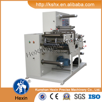 photoelectric eye label slitting & rotary die cutting machine