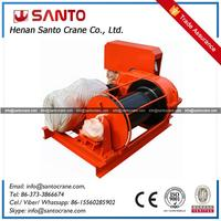 Compact Structure Electric Single Drum Winch