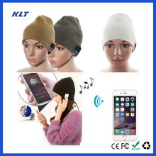 KLT Bluetooth Beanie Hat w/ Mic Earphone For invisible Running Phone Call Handsfree Men/Women Charging Speaker For S6 for Note4