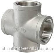 Trade Assurance Supplier Stainless Steel Pipe Fitting 304&316 Cross Tee