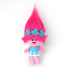 Trolls doll soft stuffed pp cotton wholesale cute trolls action figures plush toy