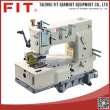 High quality 8 needle flat-bed double chain stitch sewing machine
