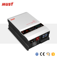 MUST 12KW Off Grid Hybrid Solar Home Use Inverter with Battery Charger 48V MPPT 120A
