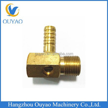 brass die casting connection part