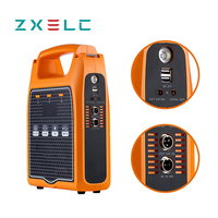 portable power center for vacuum cleaner 12v car air conditioner cooler pump