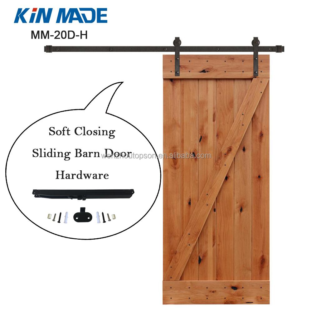 Soft Close Sliding Barn Door Hardware Kits For Wood Door Buy Soft