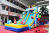 party inflatable wet/dry slide for sale/inflatable commercial bouncer slide water slides