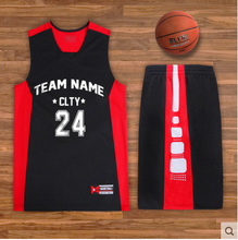 Youth reversible custom Printing logo Basketball jersey shorts/Basketball team uniform sets jersey shirts
