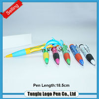 Recycling and non-toxic cartoon ball pen for students