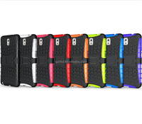 2014 New Style Cover For Samsung Galaxy Note3 TPU+PC armor kickstand case