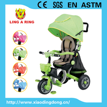 2016 LUXURIOUS HIGH QUALITY BABY TRICYCLE NEW MODELS HOT SALE GENEROUS CHILDREN TRICYCLE WITH CANOPY HOT SALE GENEROUS CHILDREN