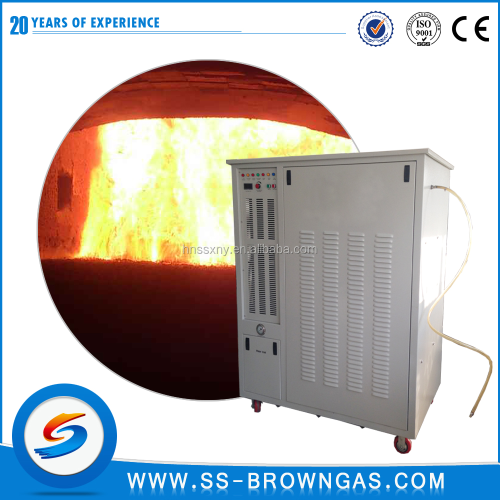 Energy-saving oxyhydrogen generator for induction electric boiler heating/ hydrogen boiler for heating