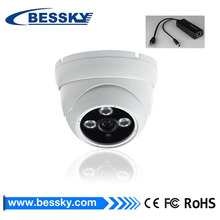 bessky infrared big ir leds indoor 1080P IP Camera poe with audio/ptz/bracket and big leds