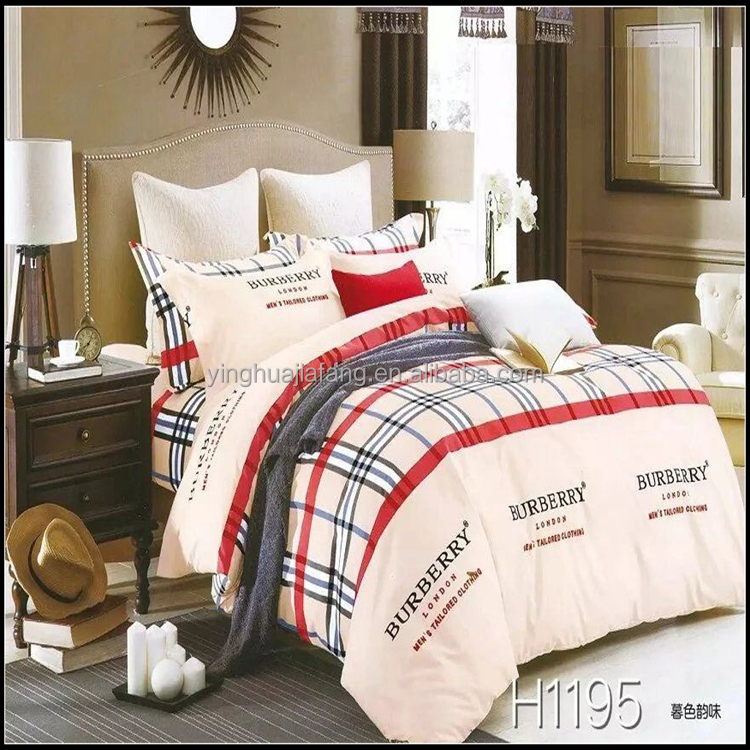 Wholesales 100% cotton custom digital print home choice king size bedding sets cheap