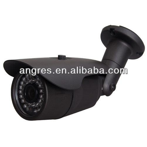 Weatherproof IP66 outdoor ir bullet camera 1/3 Sony Super had II CCD effio-e 700tvl osd optional