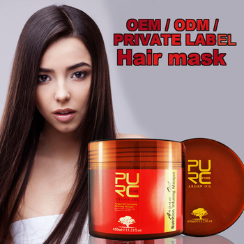 Essential oils morocco argan oil ingredient hair mask not heating high quality home use professional quality salon hot selling