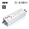 200W constant current NFC programming high power OEM ODM IP67 waterproof 0-10V PWM dimming LED driver for grow light