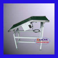 Wave Soldering Conveyor Unload/ Outfeed Conveyor is used to unload PCBs from the inclined conveyors of Wave Soldering