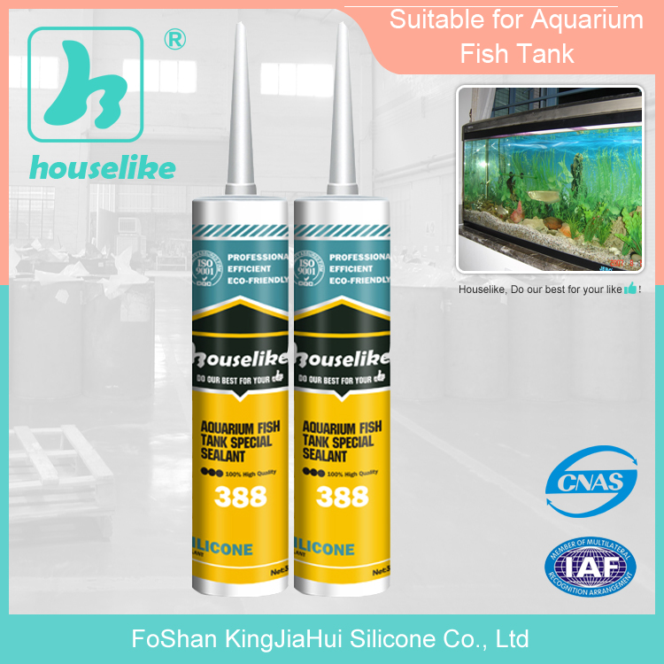 silicone sealant factory non bleaching aquarium tank acetic caulking 388
