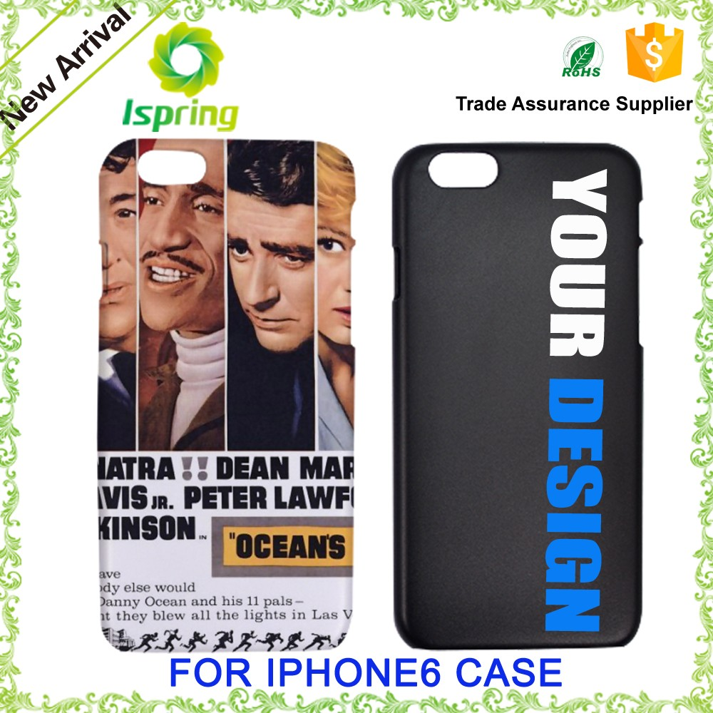 Hot Sale Products Custom Printed For Iphone 6 Cover, For Iphone 6 Hard Plastic Customized Phone Cases