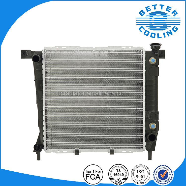 Fiat Chrysler Group Supplier Radiator Assy. Car Parts Fords 85-94 Ranger OEM:E57H8005ACA DPI:1062 Ford Radiator Aluminum