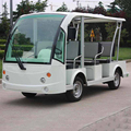 Marshell brand 8 seat electric tourist car DN-8F with CE approved
