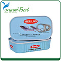 ingredient NW.125g Canned sardine fish in vegetable oil
