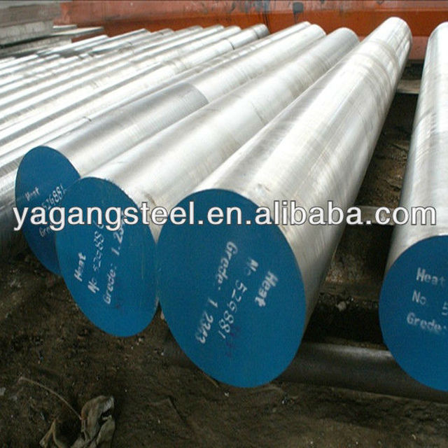Hot Work Steel AISI H13 Steel Round Bar, Hot Work Steel 1.2344/SKD 61