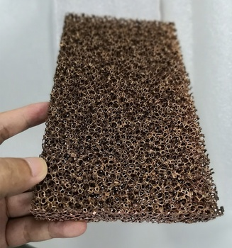 Copper foam sheet