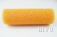 Professional Paint Tools Orange Texture Foam Roller Cover Manufacturer In Brush
