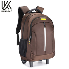 Top quality stylish design custom logo travel anti theft laptop trolley bag