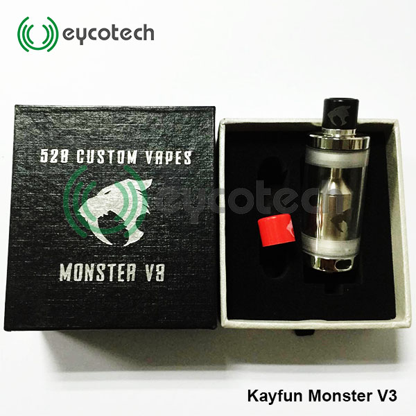 Hot sale and looks cool ! alibaba express brazil kayfun monster v3 accept paypal
