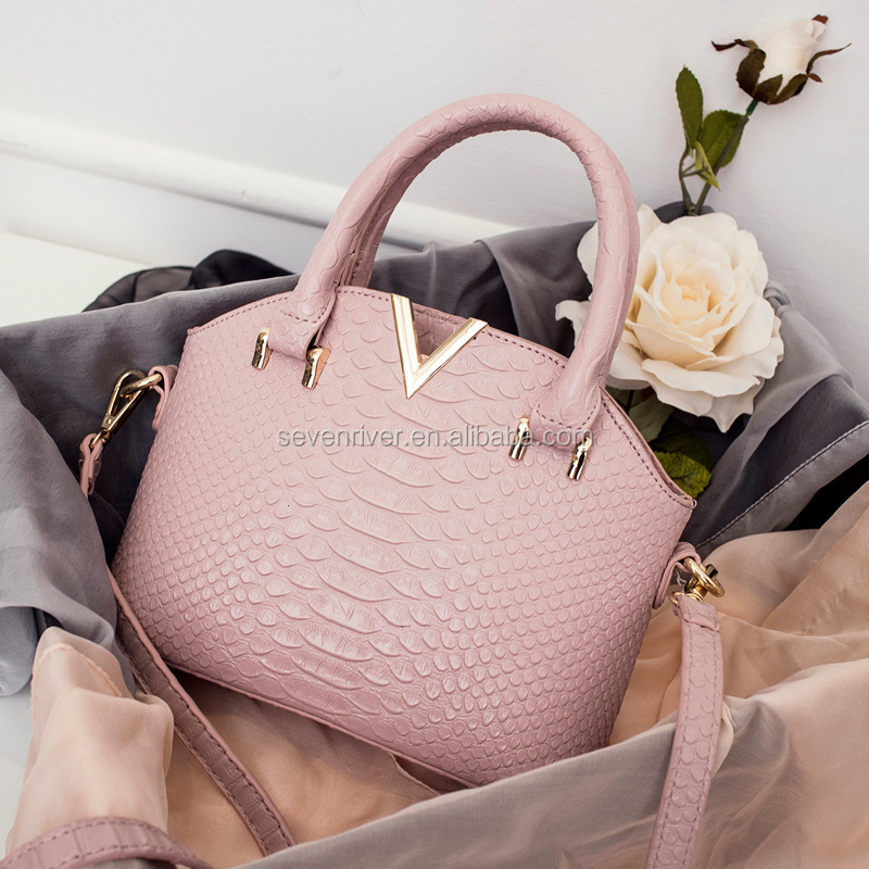 2016 new style fashion genuine leather shoulder bag