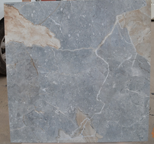 blue inject glazed porcelain tile made in zibo for hotel or bathroom