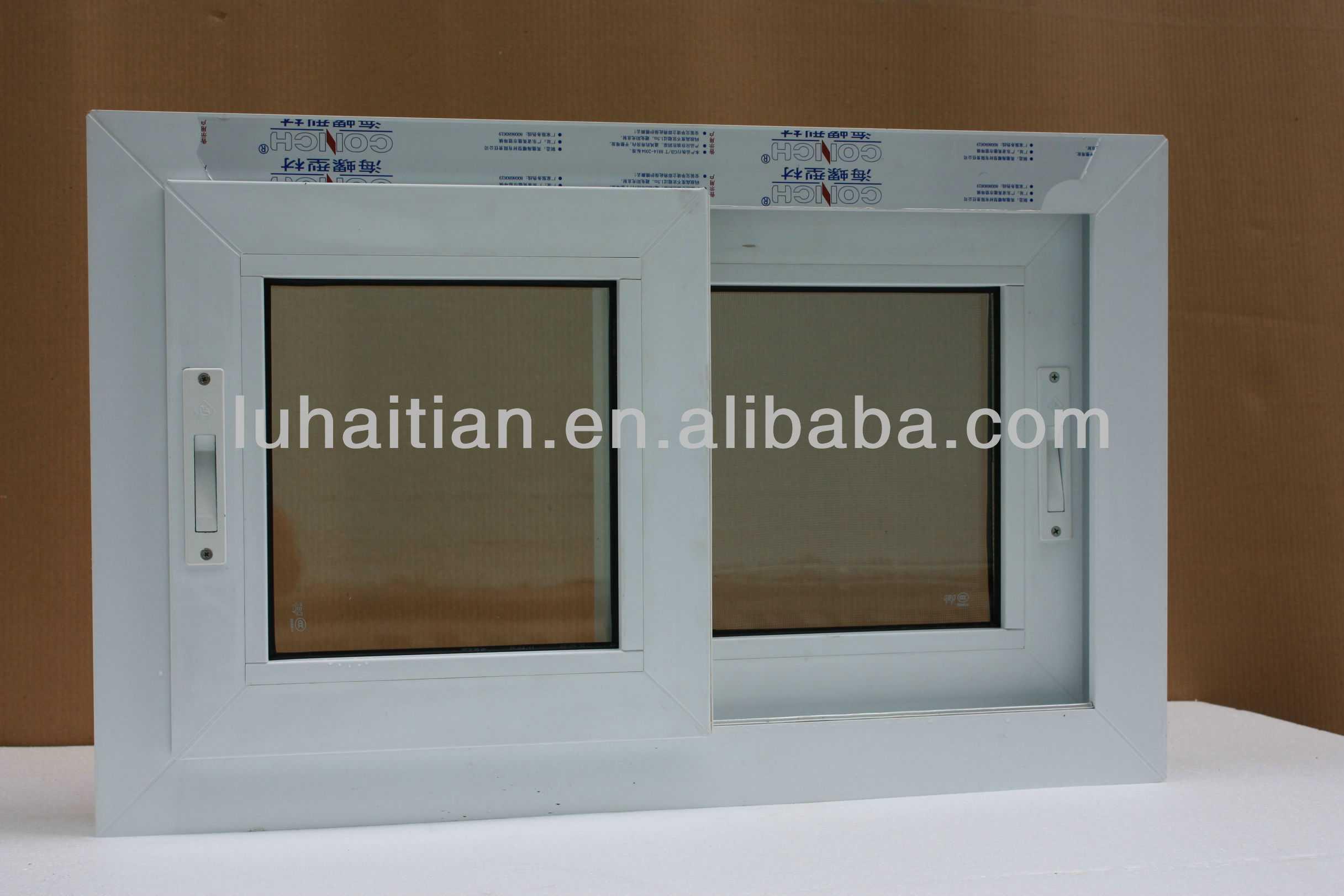 Buon isolamento termico e acustico pvc finestre con doppi vetri vetrino id prodotto 558320188 - Finestre isolamento acustico ...