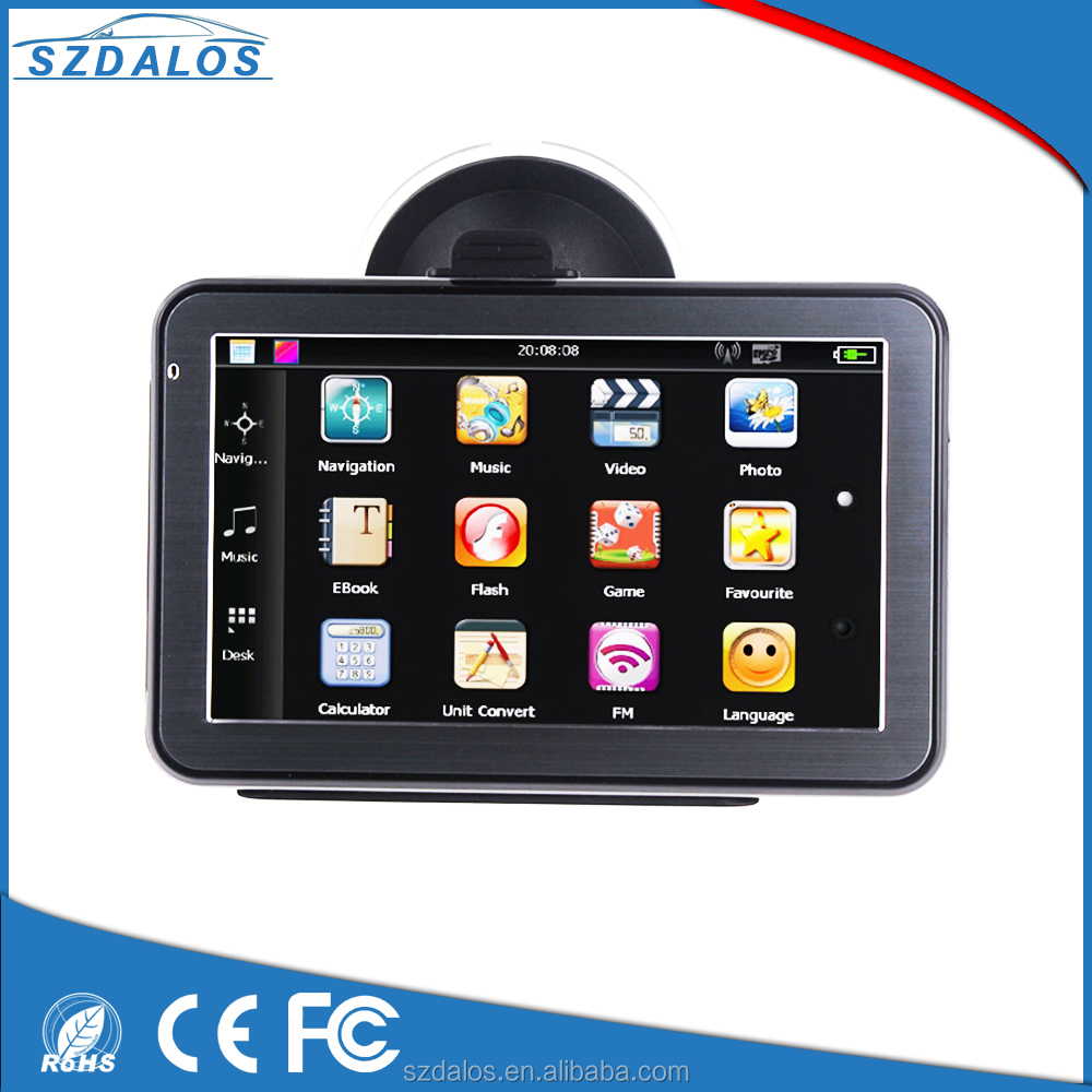 Free map windows ce 6.0 ram 256mb gps auto navigation 5 inch