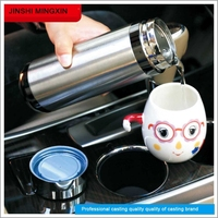 hot sale stainless steel double wall driving cooler and warmer coffee/water car cup
