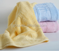 China suppliers solid children's soft and comfortable bamboo fiber bath towel