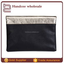 Fashion Band Office Lady Real Leather/Black PU Hand Bags