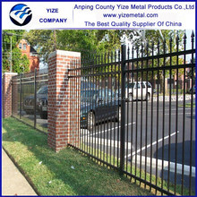 Top-selling outdoor welded security wrought iron fence/Residential Grade Wrought Iron Fence (factory price)